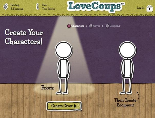 Love Coups Erstellung