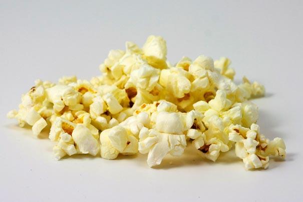 Film schauen, Popcorn